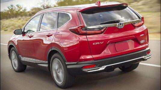 2021 Honda Cr V Changes Exterior Colors Spy Photos Hybrid Canada