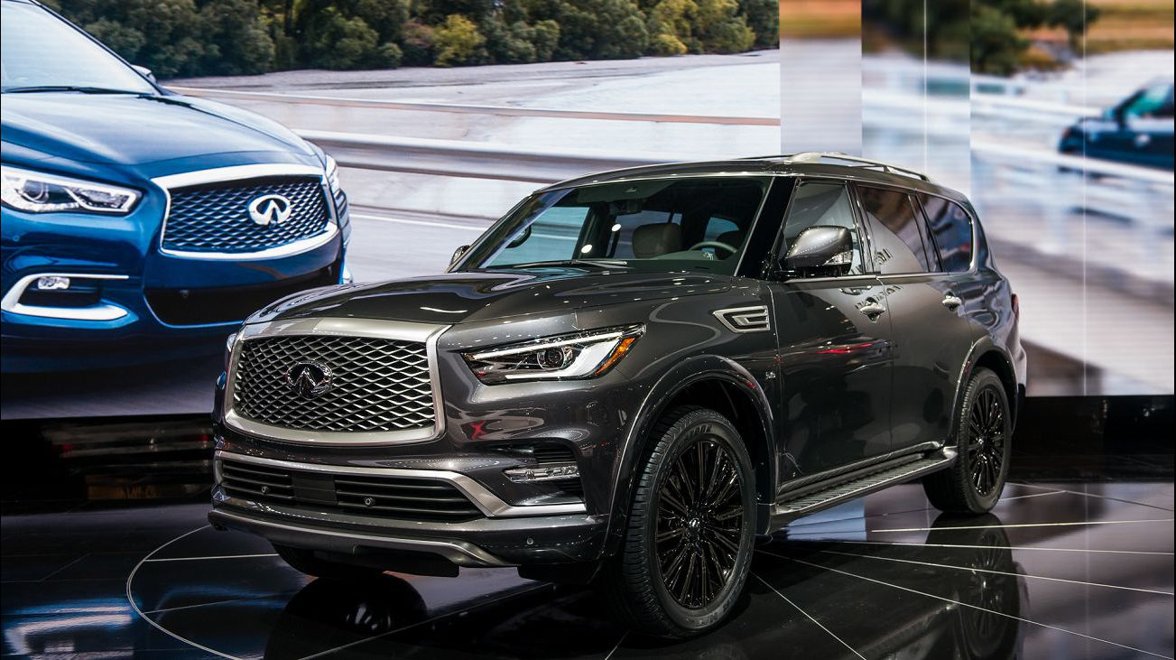 2021 Infiniti Qx60 Wallpaper