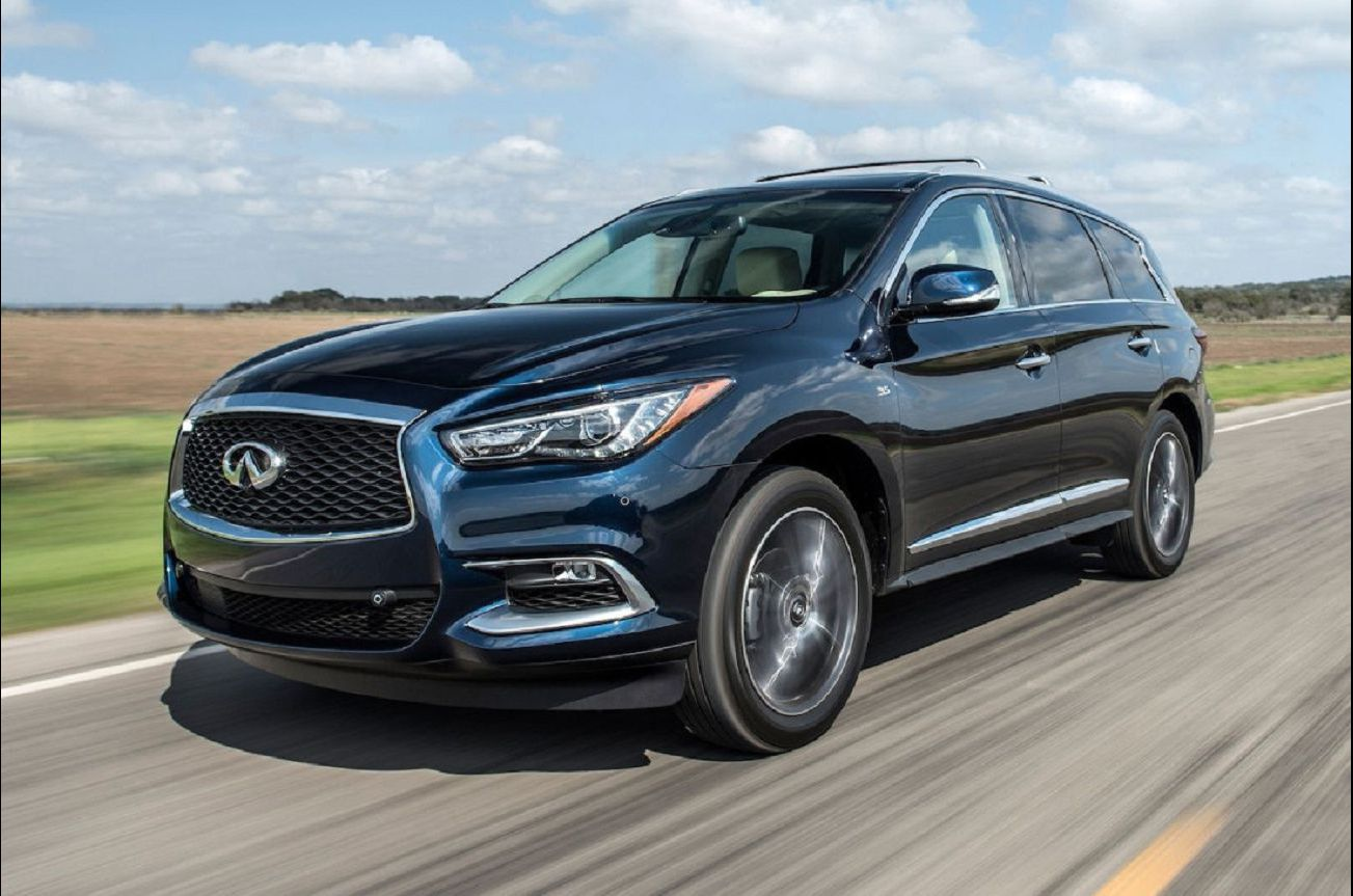 2021 Infiniti Qx60 Vs Acura Mdx Roof Rack Bumper Reviews Lease