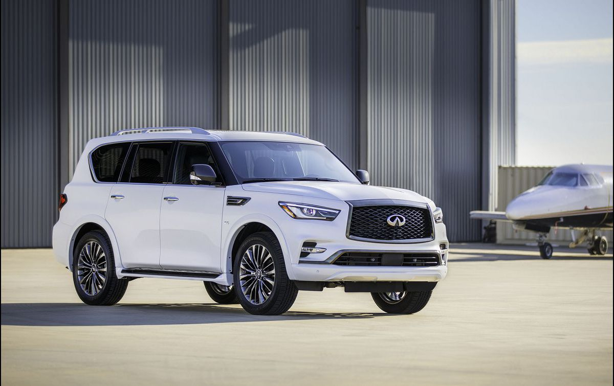 2021 Infiniti Qx80 Fargo Nd Third Row Curb Weight 22 Airbag Door Grill Rims