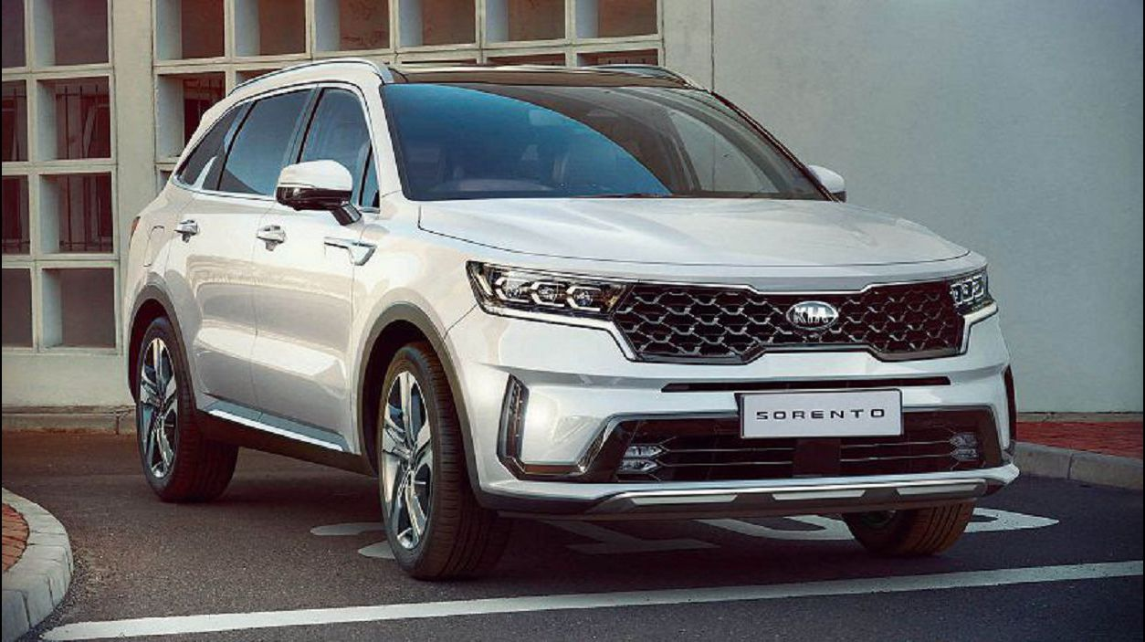 2021 Kia Sorento Render Spec Debut Forum Price Trims Front Headlights
