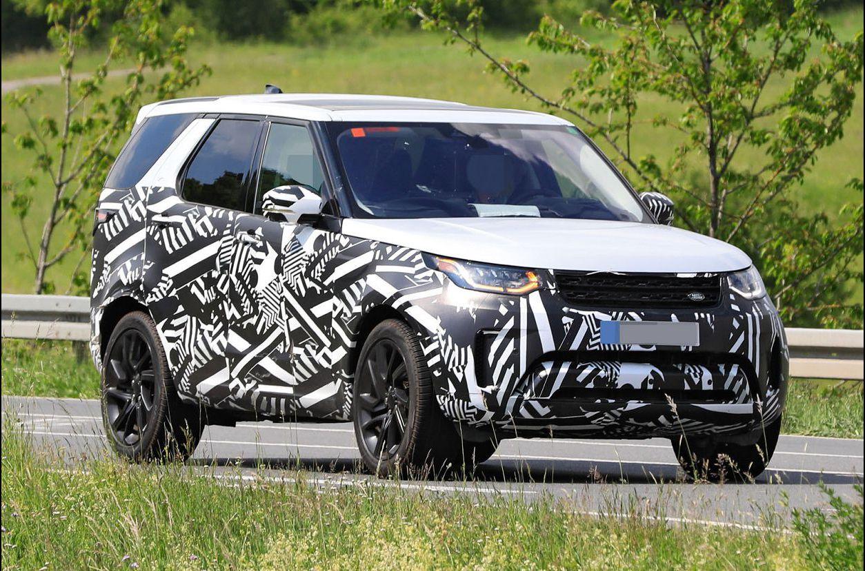 2021 Land Rover Discovery Spy Sport Interior Redesign