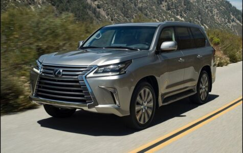2021 Lexus Lx 570 New Model Facelift Hybrid F Sport Seat Roof Toy Lx570
