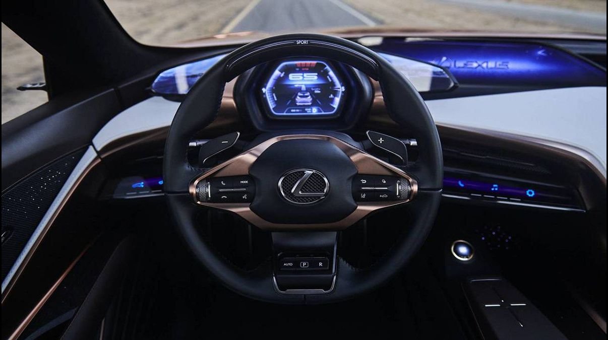 2022 Lexus Lq Nv Lc 500 F Concept Las Vegas