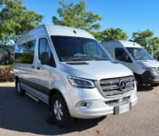 2022 Mercedes Metris 4x4 Van Review Headlight