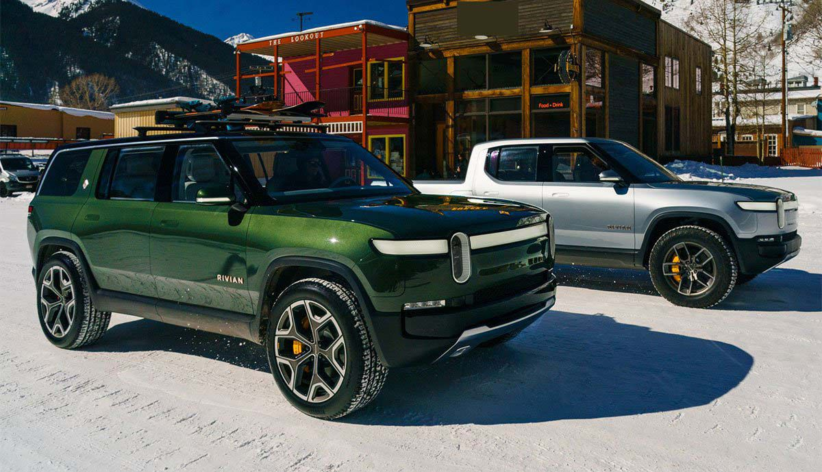 2022 Rivian R1s Turn Specs Reviews Pictures Third