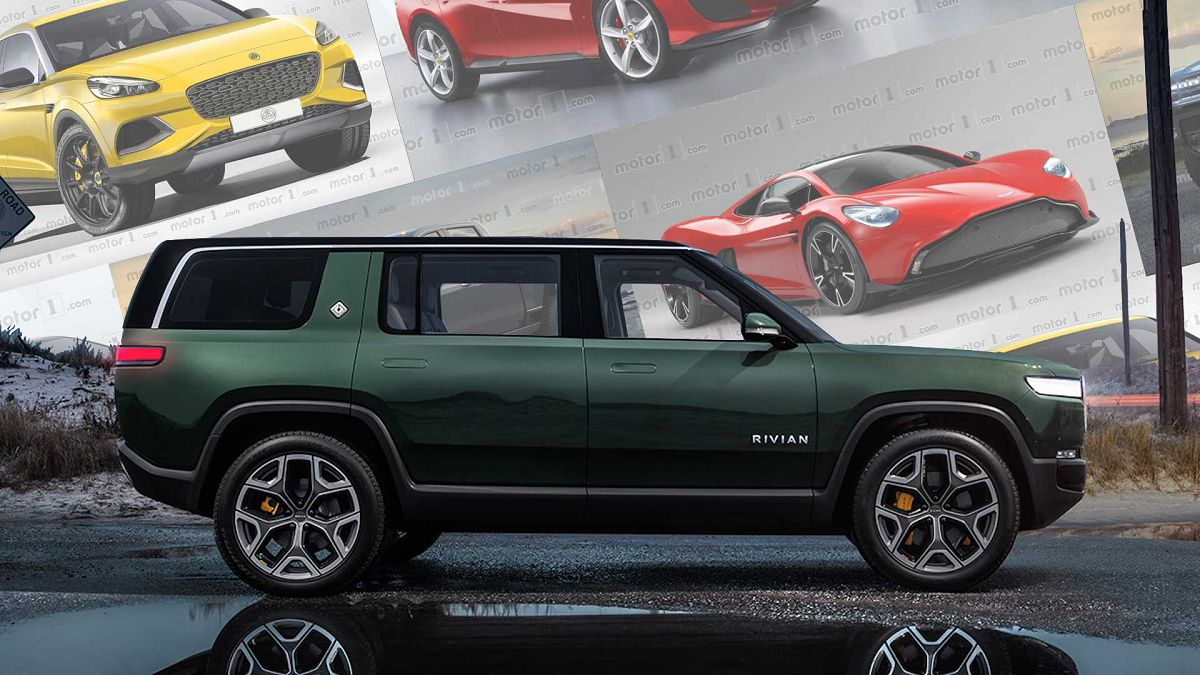 2022 Rivian R1s Video Range Size Spec White