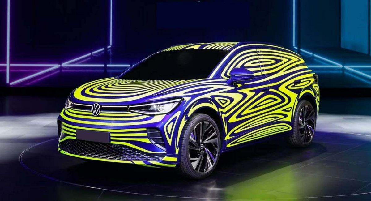 2022 Volkswagen Id.4 For Usa Electric Crossover Us Sales
