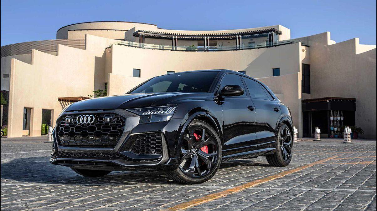 2022 Audi Rs Q8 Exhaust Drag Race Drive Black