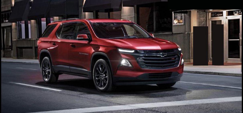 2022 Chevrolet Traverse 1lt 2lt Release Date Colors