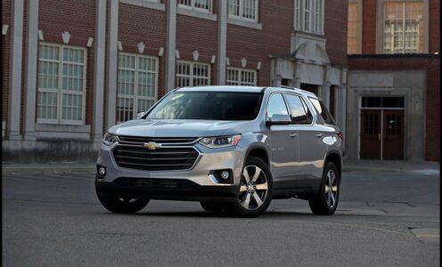 2022 Chevrolet Traverse 2lz Ls Redline