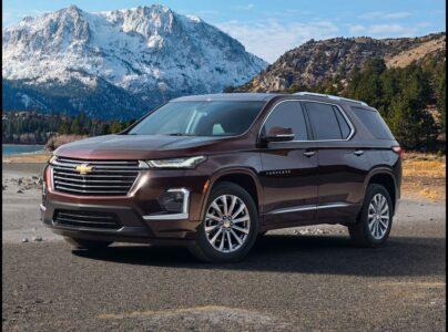 2022 Chevrolet Traverse Awd Price 3lt Premier Awd