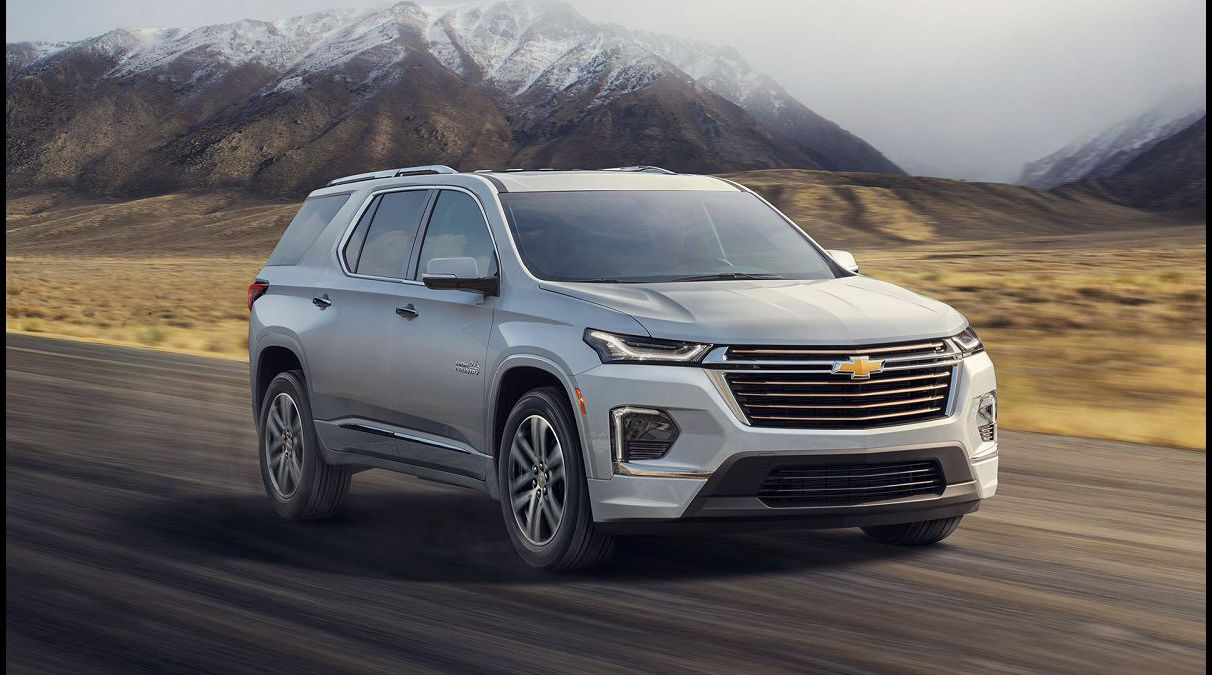 2022 Chevrolet Traverse Exterior Colors Premier