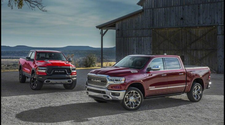 2022 Dodge Dakota 4x4 Srt Pickup Picture