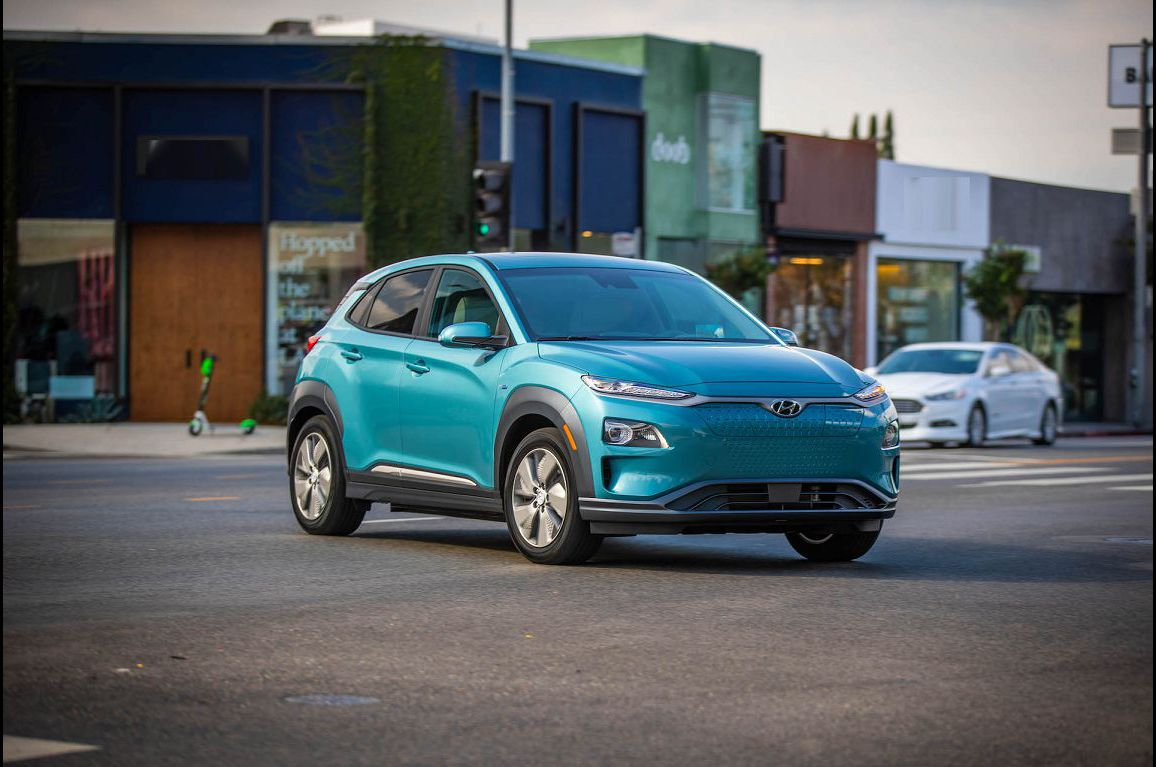 2022 Hyundai Kona Reviews Ev Sunshade Roof