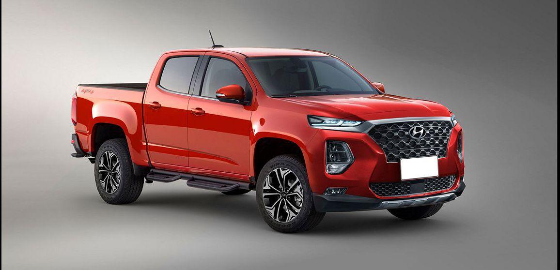 2022 Hyundai Santa Cruz News Concept Bed Length Release