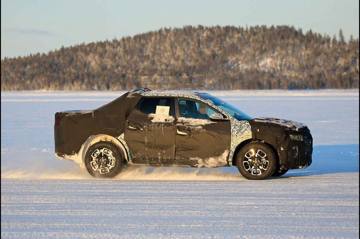 2022 Hyundai Santa Cruz Spy Photos Pics Uk Buy