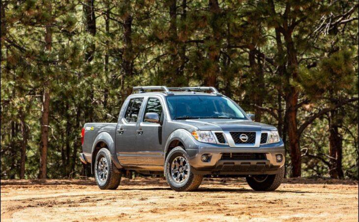 2022 Nissan Frontier 4x4 Pro 4x Trucks Towing Capacity