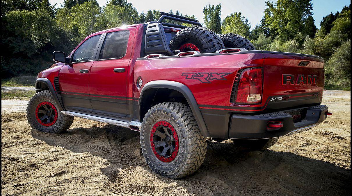 2022 Ram Rebel Trx Raptor Engine Exhaust Teaser Ford