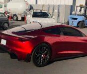 2022 Tesla Model Y Center Console Wrap Matte Cup Holder