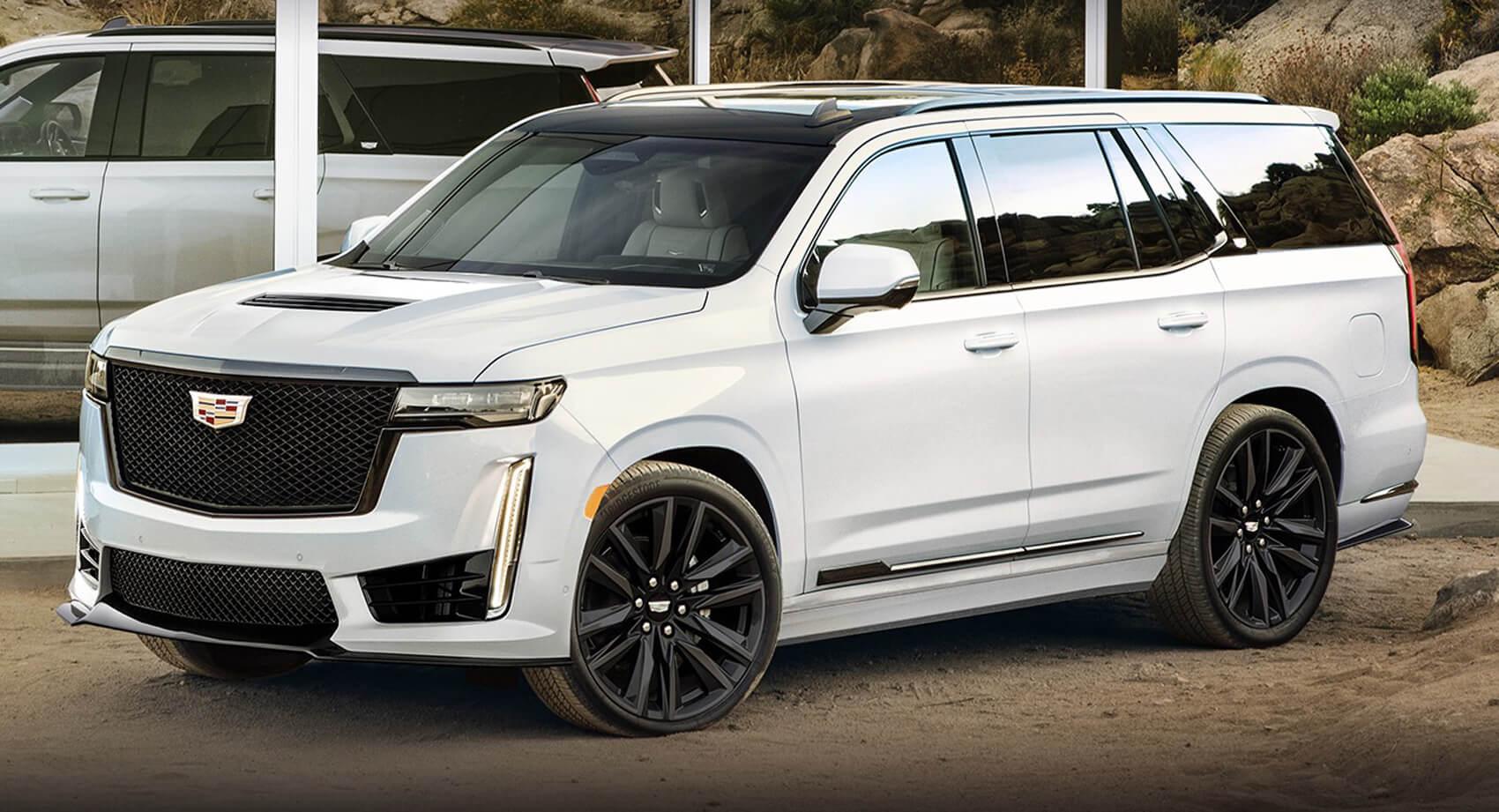 2022 Cadillac Escalade Esv 2022 Ext 2017 2018 Trim Packages