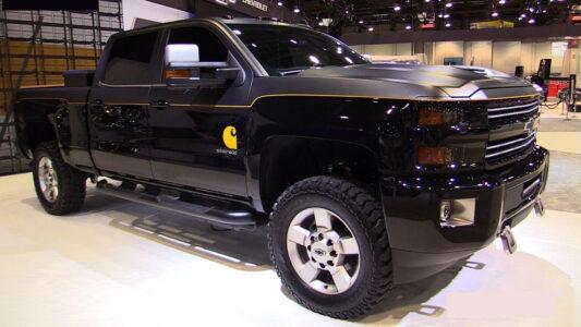 2022 Chevy Silverado Carharrt Edition Center Caps Wheels And Tires Console