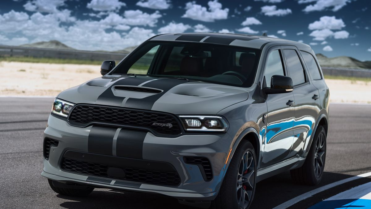 2022 Dodge Durango Srt Hellcat Interior Pic