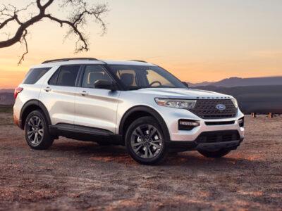 2022 Ford Explorer Platinum Platinum Sport Interior