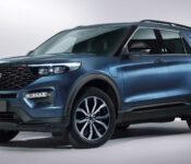 2022 Ford Explorer Platinum Xlt Sport Release Date