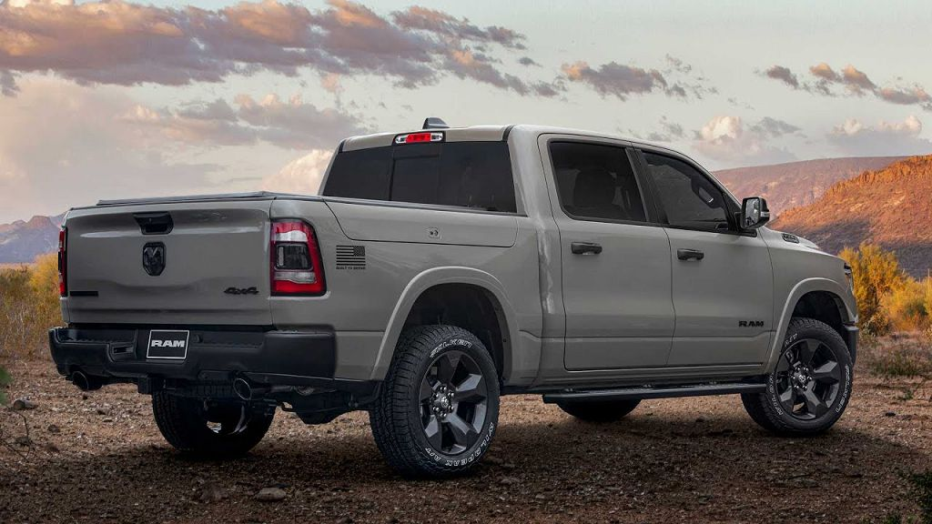 2022 Ram 1500 Pickup Limited Redesign Release Date