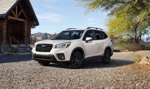 2022 Subaru Forester Sport Redesign Release News Specs
