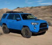 2022 Toyota 4runner Limited Redesign Spy Photos
