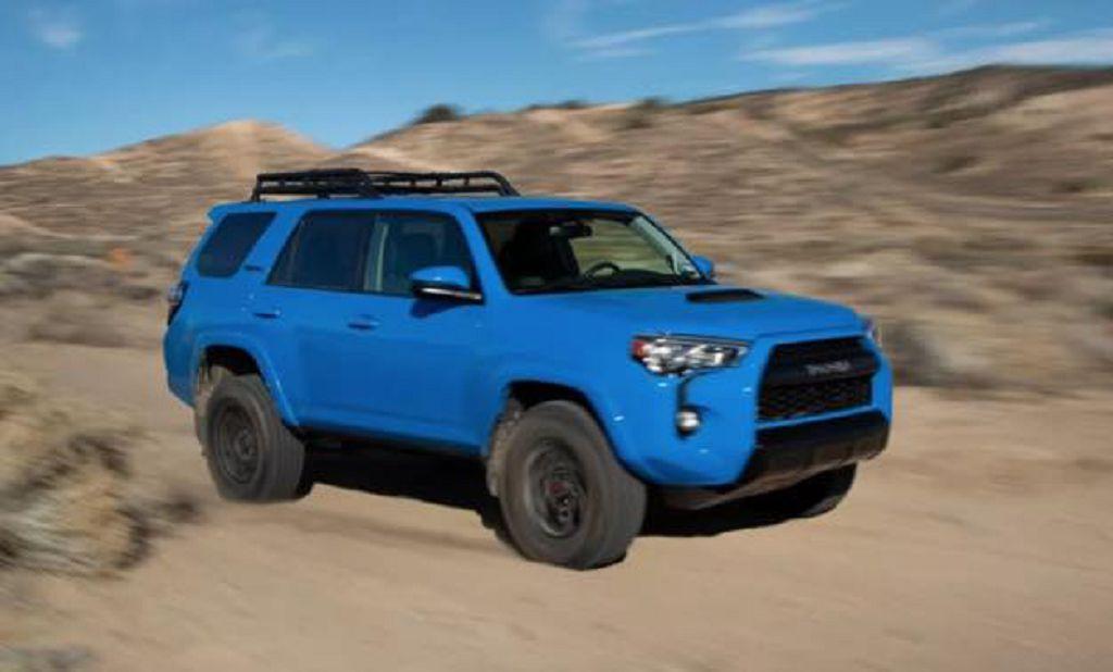 2022 Toyota 4runner Limited Redesign Spy Photos Spirotours Com