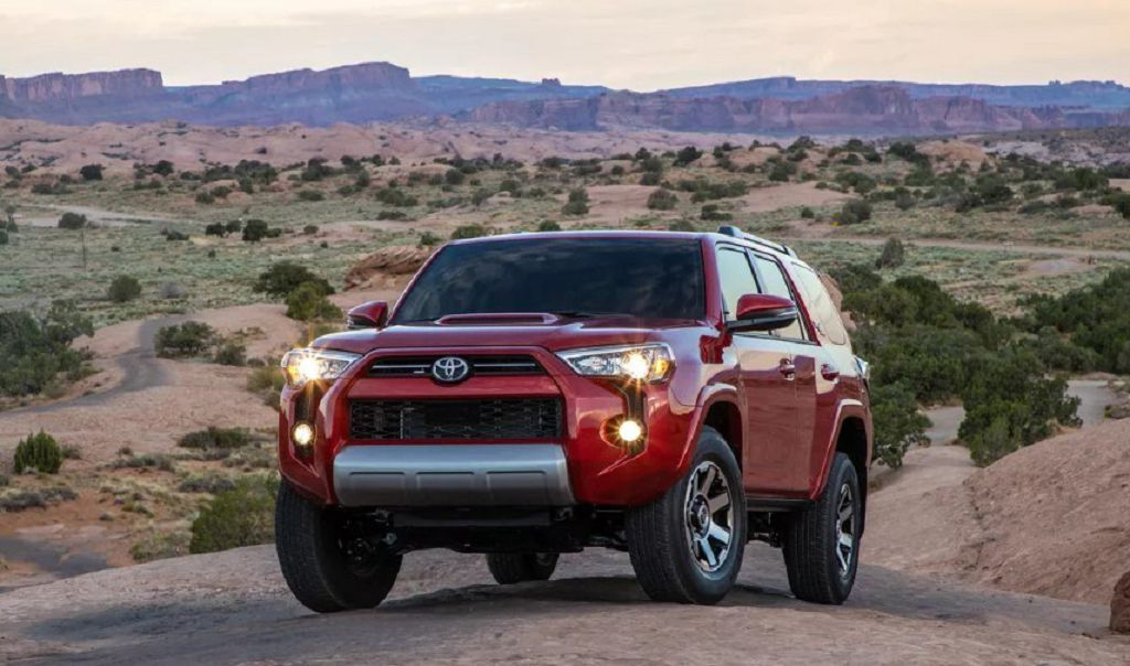 2022 Toyota 4runner Spy Photos Trd Pro