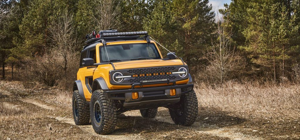 2022 Ford Bronco Hybrid Truck Warthog Pictures