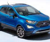 2022 Ford Ecosport Trims Se News Specs