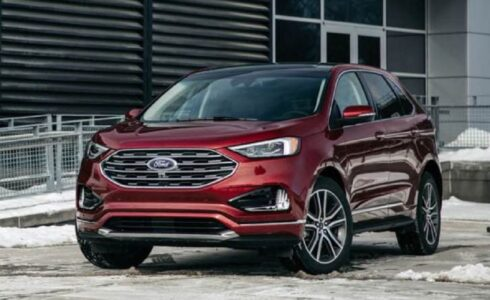 2022 Ford Edge St Titanium Sport Sel Specifications