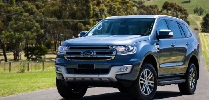 2022 Ford Everest Australia Sport