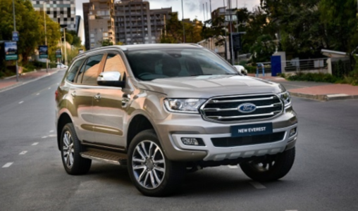2022 Ford Everest Pictures Thailand