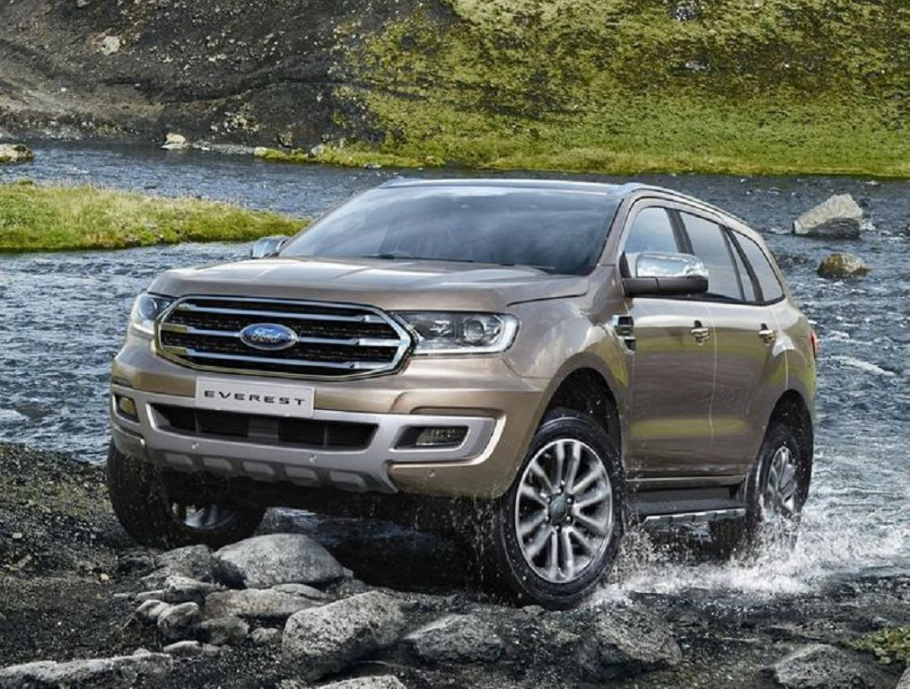 2022 Ford Everest Titanium Raptor