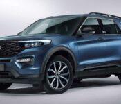 2022 Ford Explorer Mpg Phev Specs Price