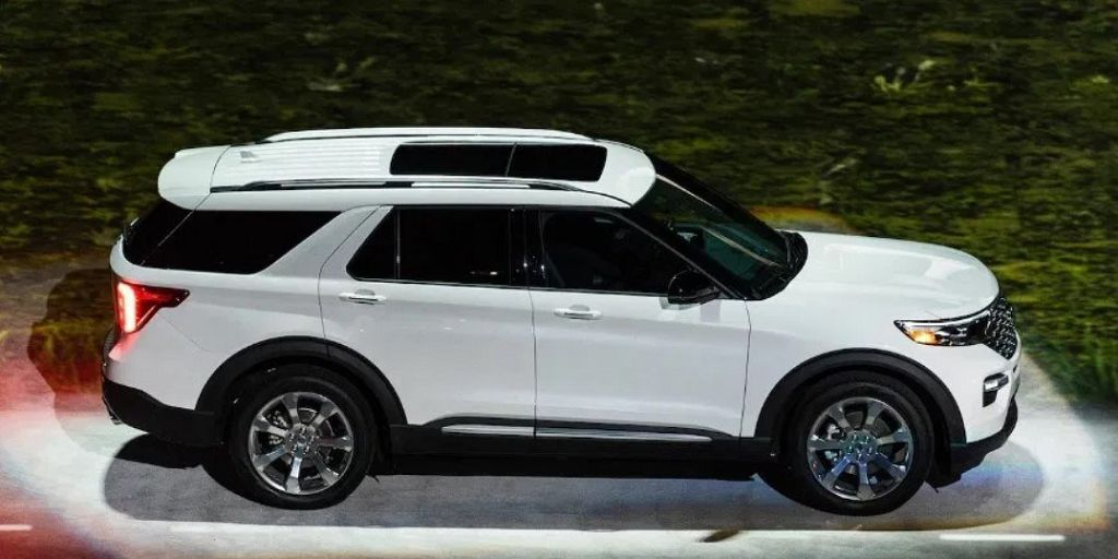 2022 Ford Explorer St Interior Pics Limited Spc