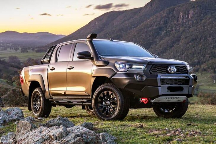 2022 New Toyota Hilux All Land Cruiser