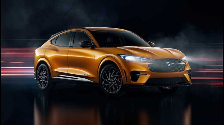 2022 Ford Mustang Mach 1
