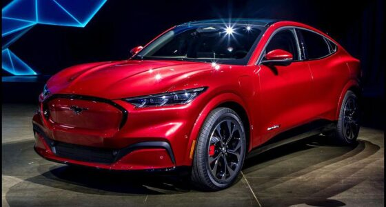 2022 Ford Mustang Mach E Gt Car And Driver Specs Interior
