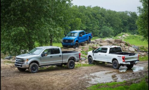2022 Ford Super Duty Tremor Announcement Lithium Gray Release Date