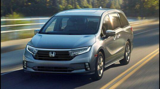 2022 Honda Odyssey Review Touring Colors Elite