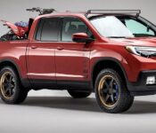 2022 Honda Ridgeline Black Edition Hybrid Spy Redesign