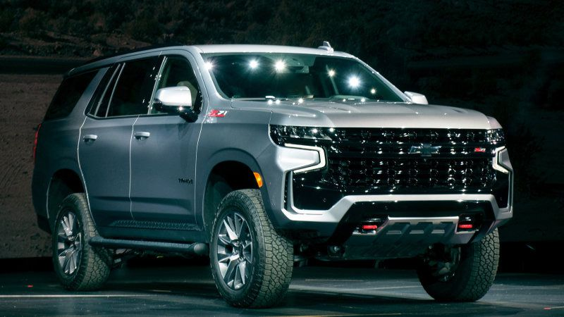 2022 Chevy Tahoe Redesign New Body Style Concept