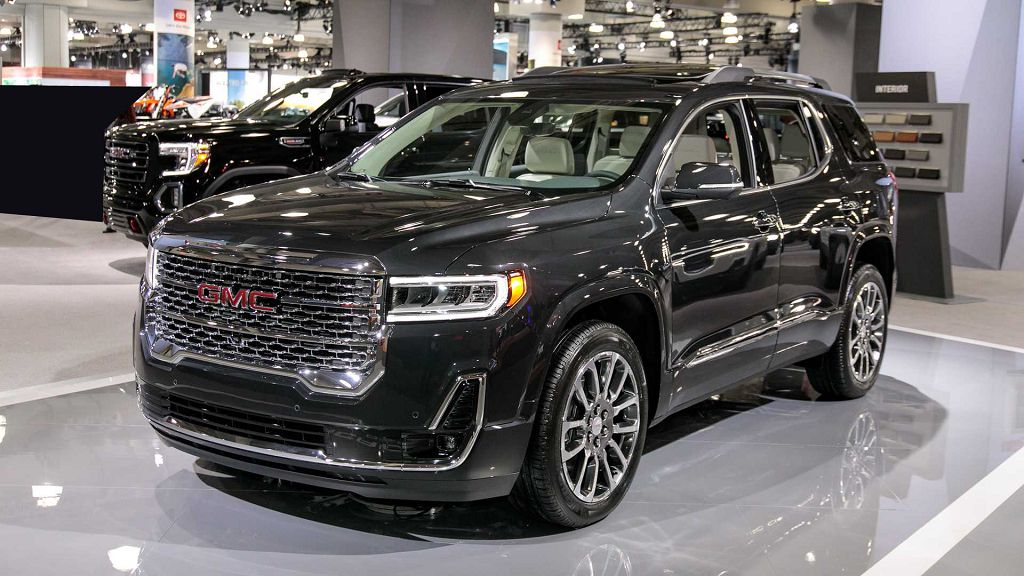 2022 Gmc Acadia Limited Release Slt Fwd